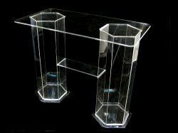 Mesa de Ceia em Acrílico Cristal