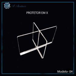 Protetor de  Mesa em X Modelo- 04