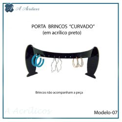 Expositor de Brincos  CURVADO